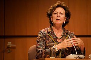 NOG Brussel: Neelie Kroes